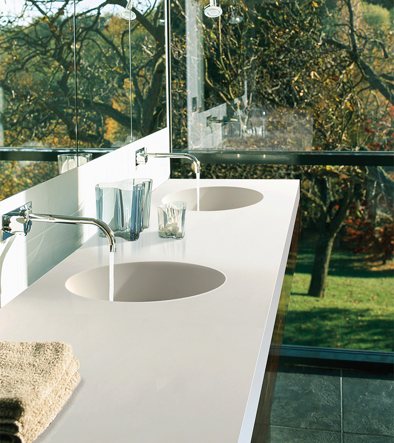 Halo Counter Sink, image courtesy MTI Baths