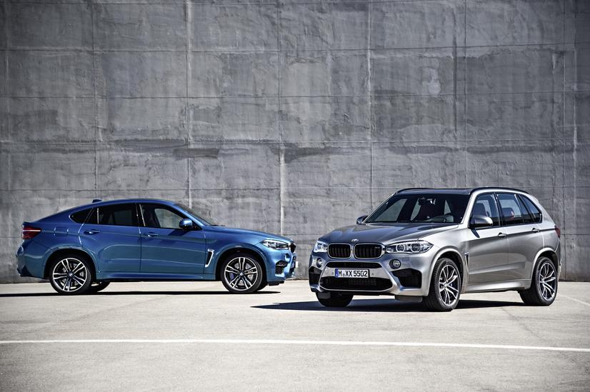 2016 BMW X5M & X6M, Courtesy BMW USA