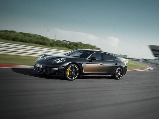 Porsche Panamera Exclusive Series, Courtesy Porsche