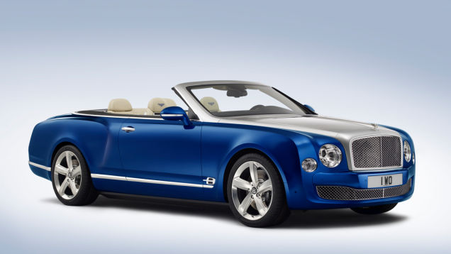 Bentley Grand Convertible, Courtesy Bentley Motors