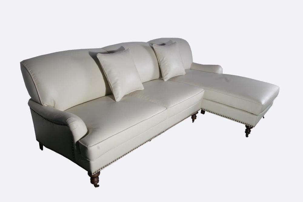 Rolled Arm Sectional, courtesy Abbyson Living