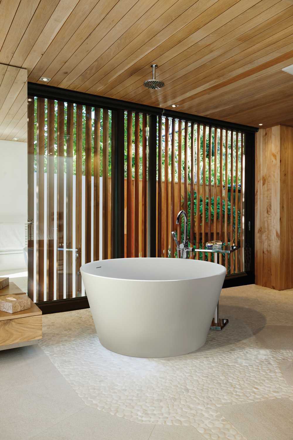Halo Soaking Tub, Courtesy MTI Baths