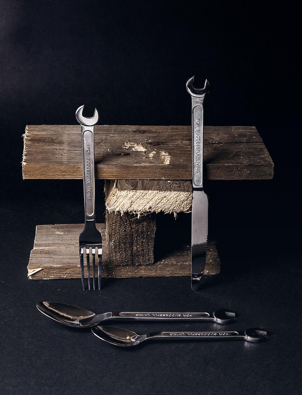 DIY Cutlery, Courtesy Seletti
