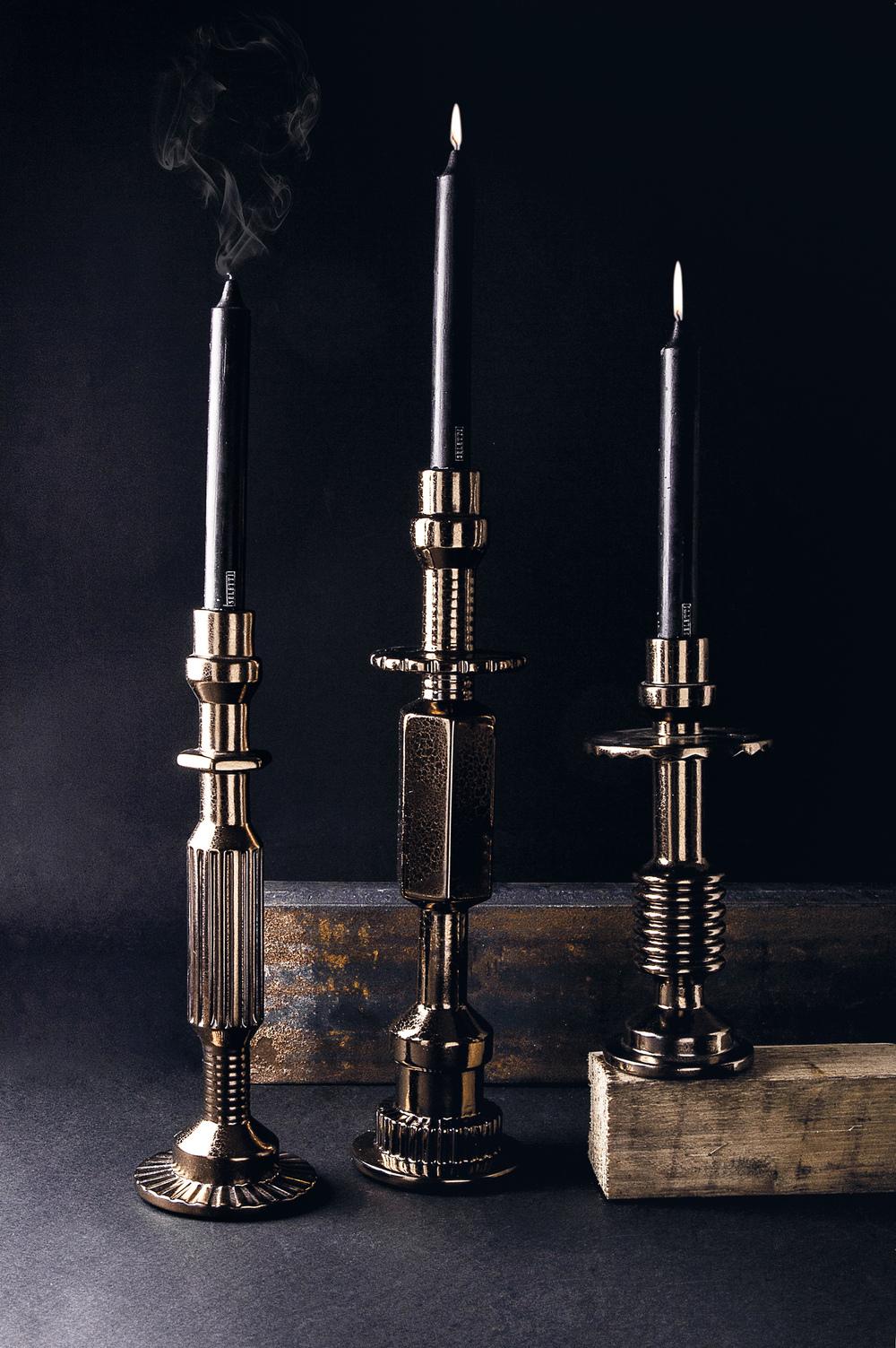 Transmission Candlesticks, Courtesy Seletti