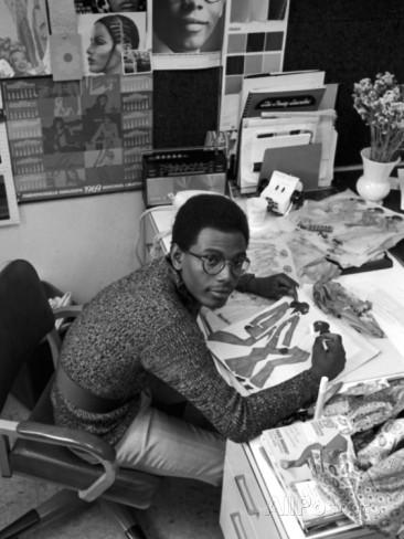Designer Willi Smith; Photo: Johnson Publishing Company