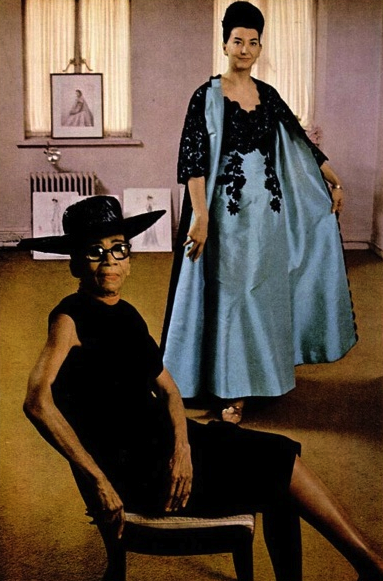 Ann Lowe, designer of Jacqueline Kennedy's bridal gown; Photo: Unknown