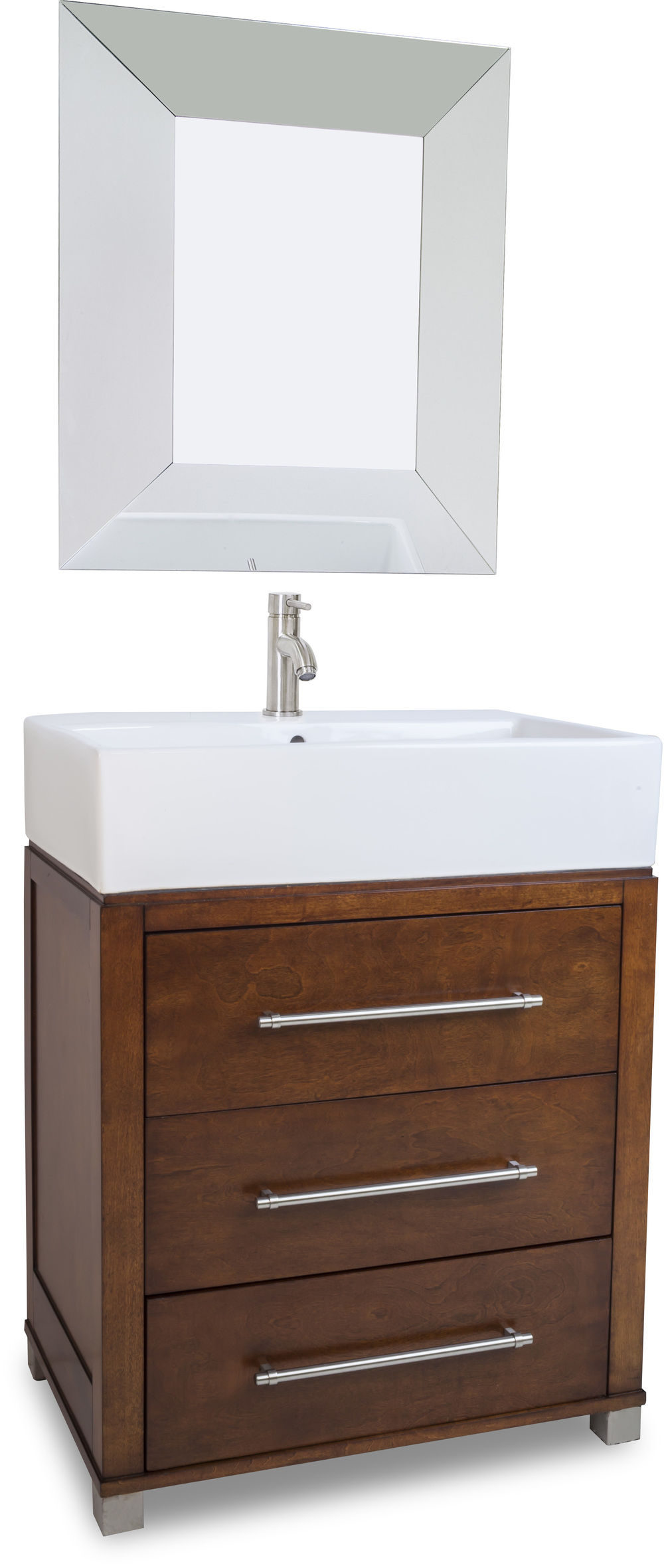Briggs Vessel Sink & Vanity, Courtesy Hardware Resources