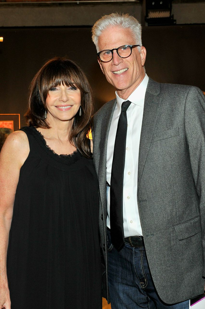 Actors Ted Danson and Mary Steenburgen attend the 2014 preview party; Courtesy Period Media