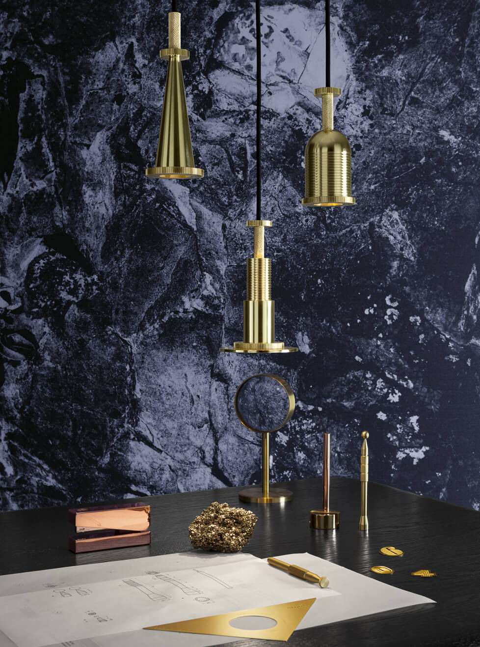 Cog Pendants, Courtesy Tom Dixon
