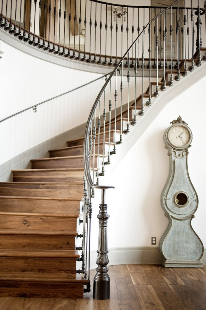 Metalwork by Utah based Cactus Ornamental Welding in a home by Alice Lane Home| Photo by Ashlee Raubach