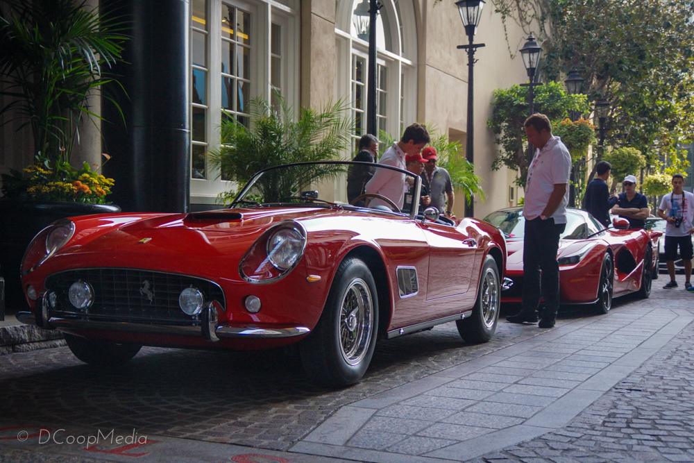 The Ferrari 250 California GT Spyder, this one spotted in Beverly Hills | Photo copyright DCoopMedia