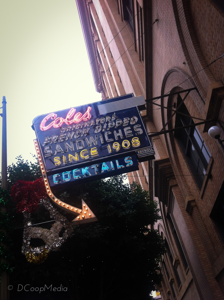 Cole's French Dipped, an LA institution since 1908 © dcoopmedia, llc