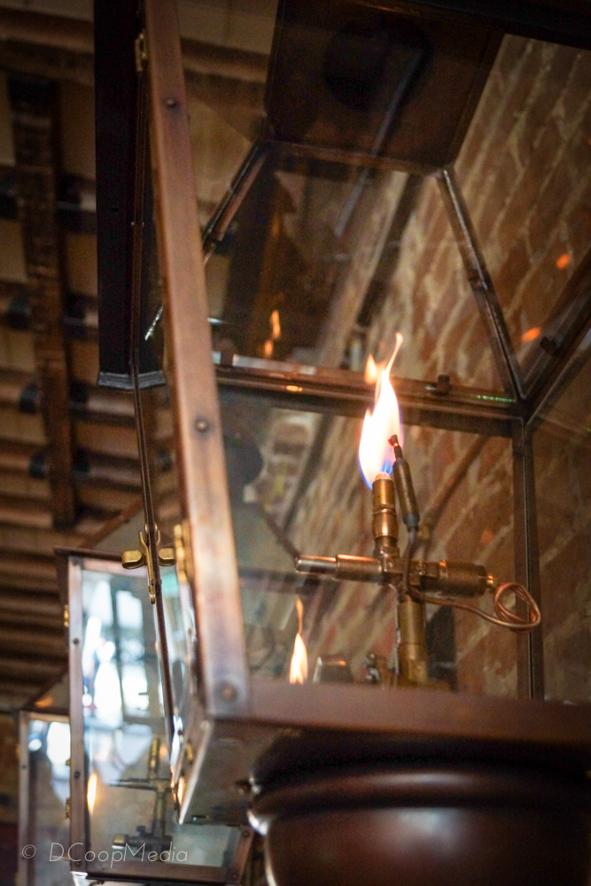 A Gas Flame Lantern from New Orleans' Bevolo | Photo by DCoopMedia