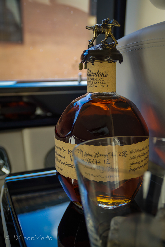 Blanton's Single Barrel Bourbon, distilled in Kentucky © dcoopmedia, llc
