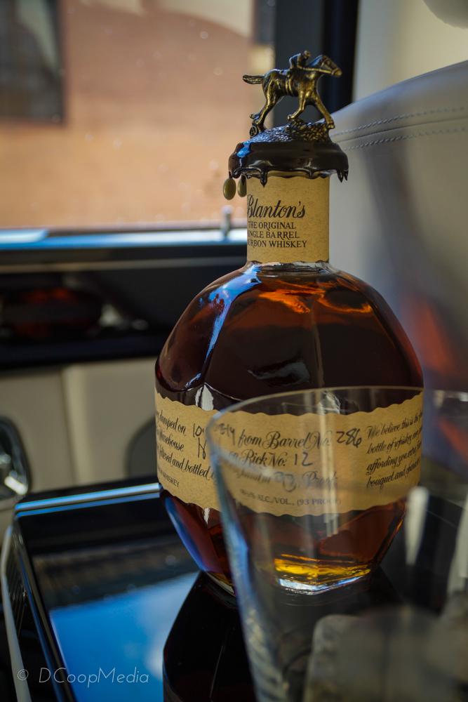 Blanton's Single Barrel Bourbon, distilled in Kentucky | Photo by DCoopMedia