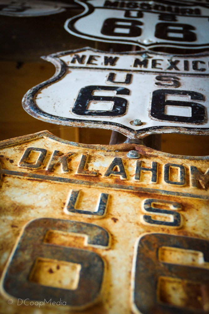 Route 66 - Connecting the East and West Coasts © dcoopmedia, llc