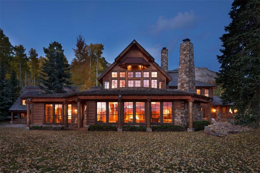The Telluride compound of actor Tom Cruise. // © toptenrealestatedeals.com