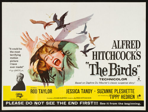 The Birds  , directed by Alfred Hitchcock, premiered on March 28th, 1963.
