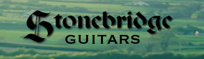 I play a Stonebridge C23 CC-C guitar with a cedar top and cocobolo back and sides. Thanks to Stonebridge for making this amazing guitar for me!