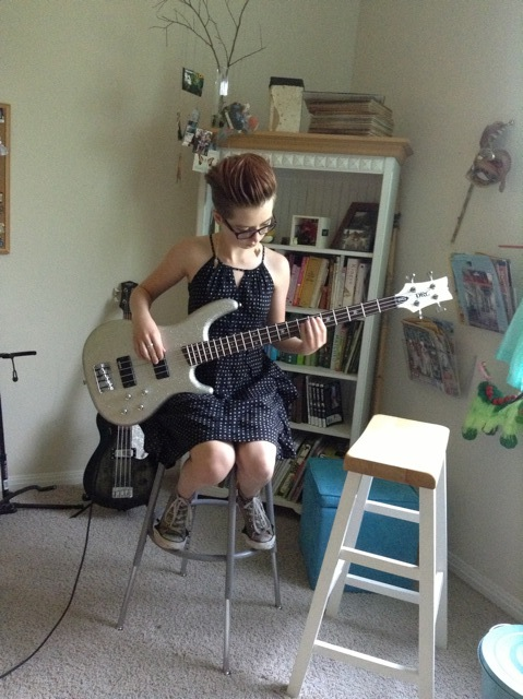 zoe's new bass.jpeg