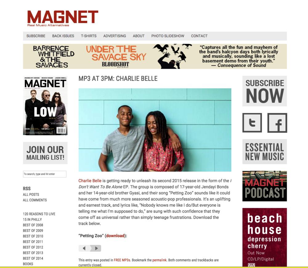 Magnet Magazine