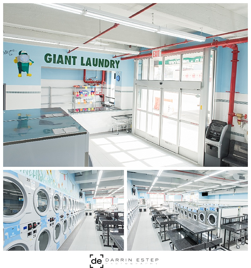 Darrin Estep Photography | Laundromat Commercial