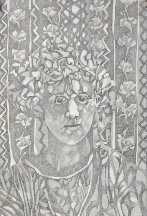 My grandmother Aletha. Graphite on paper. 1979