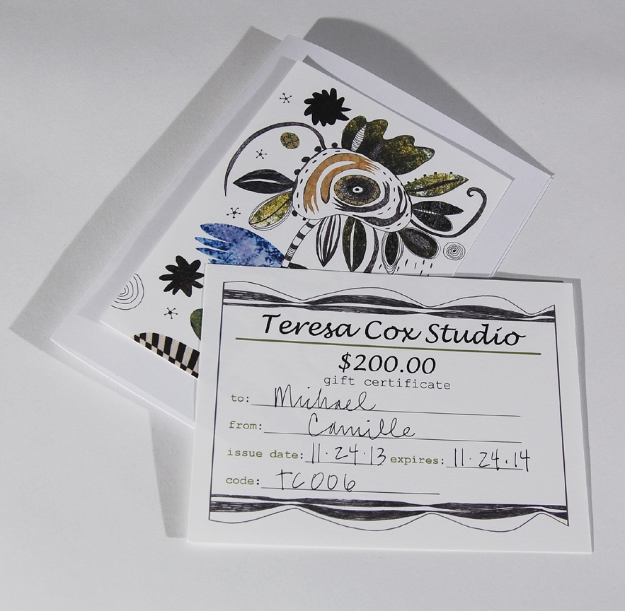 Gift Certificates start at 25.00