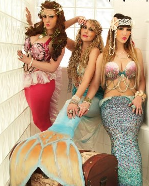 Mermaids for events