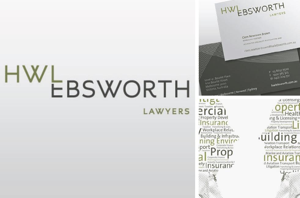 HWL Ebsworth Lawyers Branding
