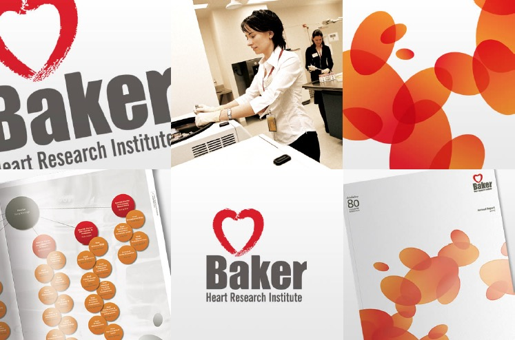 Baker Heart Institute Branding