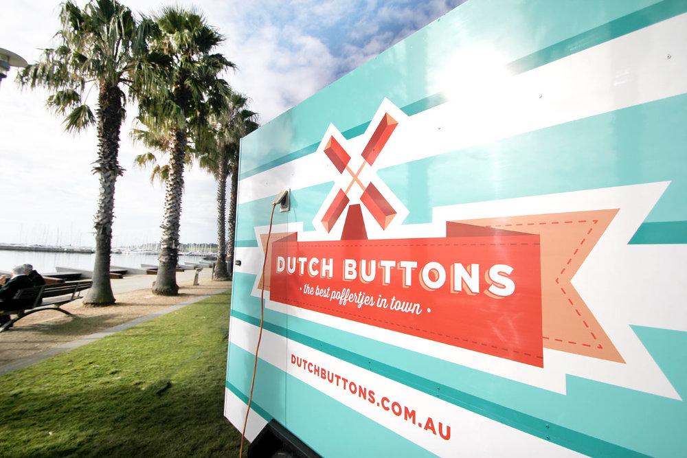 Dutch Buttons Poffertjes Branding