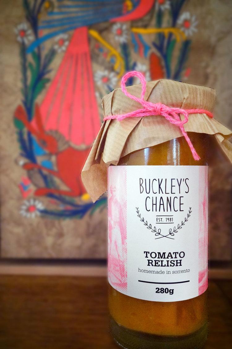 Buckley's Chance Sorrento Branding