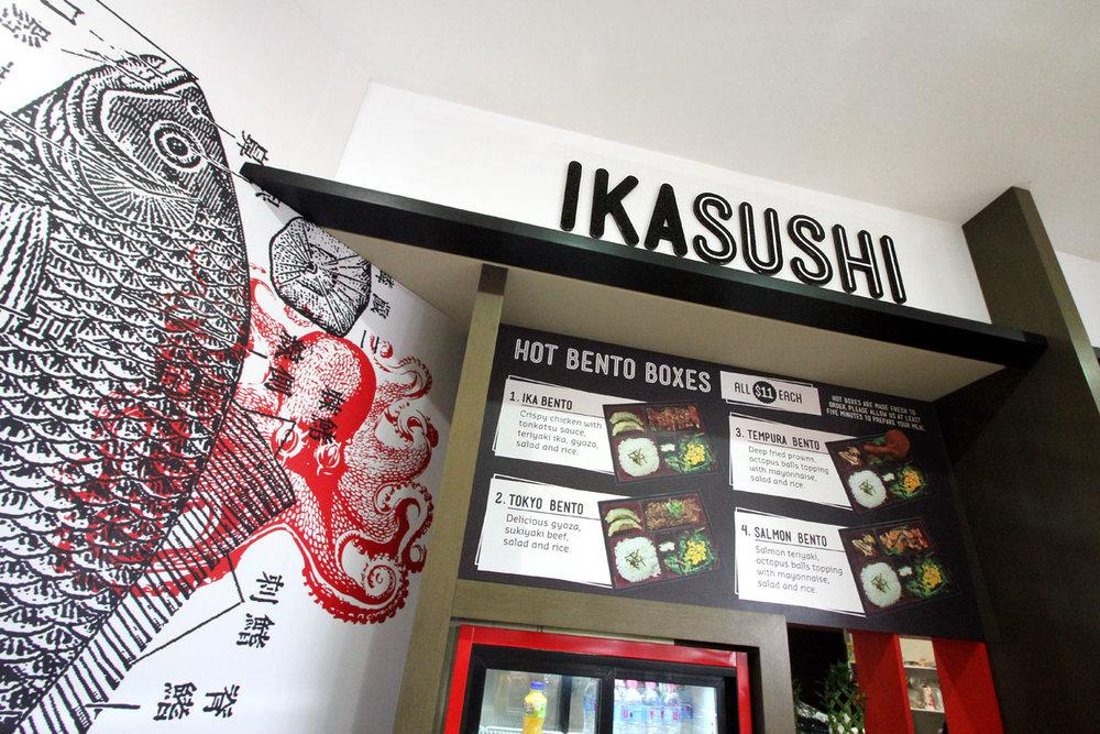 Ika Sushi Branding