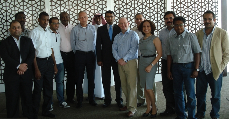 Photo of the delegates to the Advanced Operational Cash Flow and Treasury Management Workshop held in Dubai