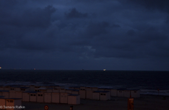 Twillight on the North Sea