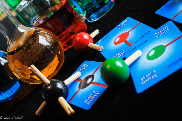 Molecules is a great chemistry card game where students compete to build molecules!