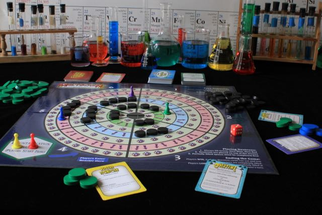 Meltdown  is a Cooperative Chemistry Game.
