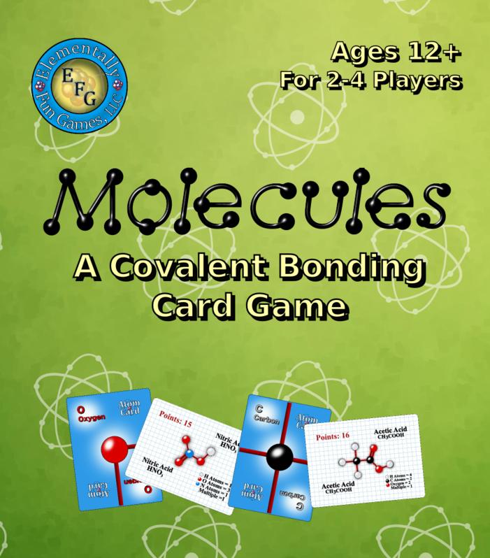 Molecules A Covalent Bonding Card Game!