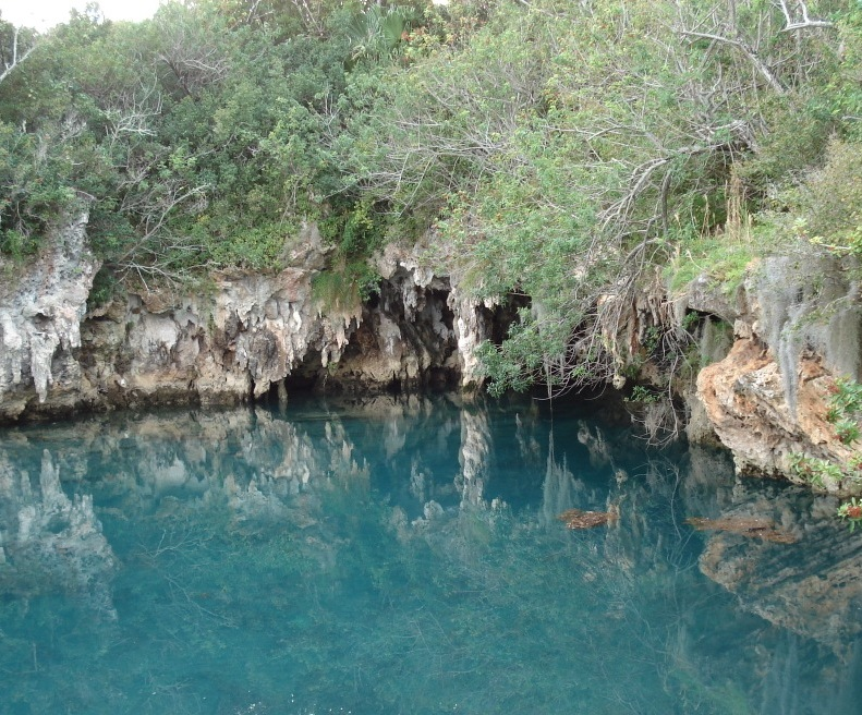 Blue Grotto at Blue Hole Park