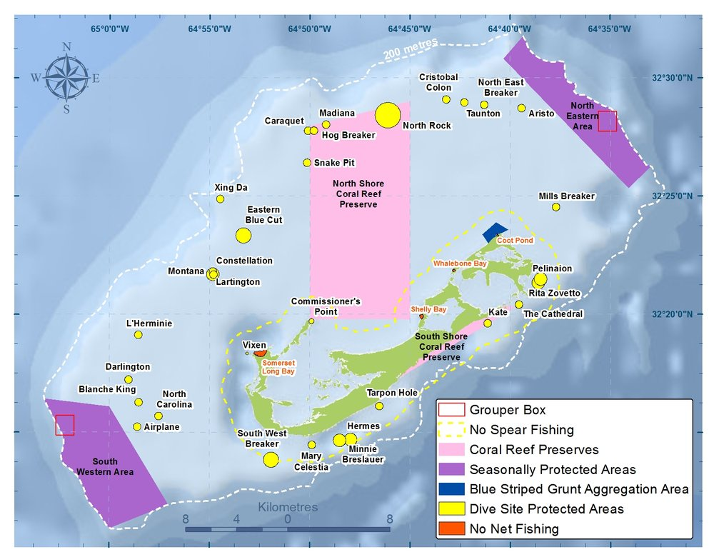 Bermuda's Marine Protected Areas
