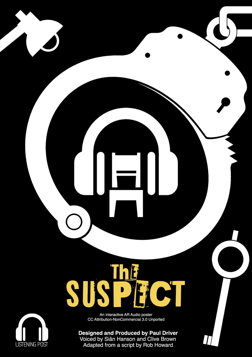 This is a first-person audio story that places the listener right in the middle of the action, as a suspect is being questioned about a violent crime. Recorded using 3D spatial audio, you will feel the police officer pacing around you, at times leaning in, threateningly, as she snares the suspect in his own web of lies. Best listened to with headphones, sitting down, eyes closed, and when you're feeling guilty… Feel free to use this as you see fit, but you can find an outline of my lesson plan  here .  Download