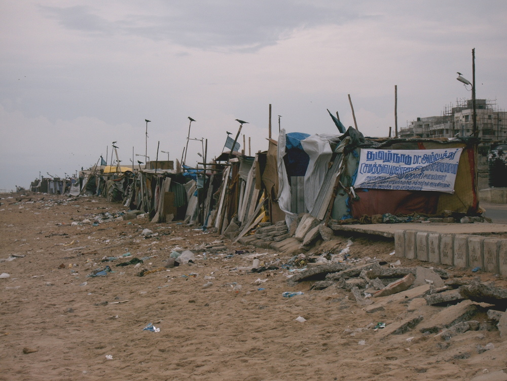 Slums in Chennai