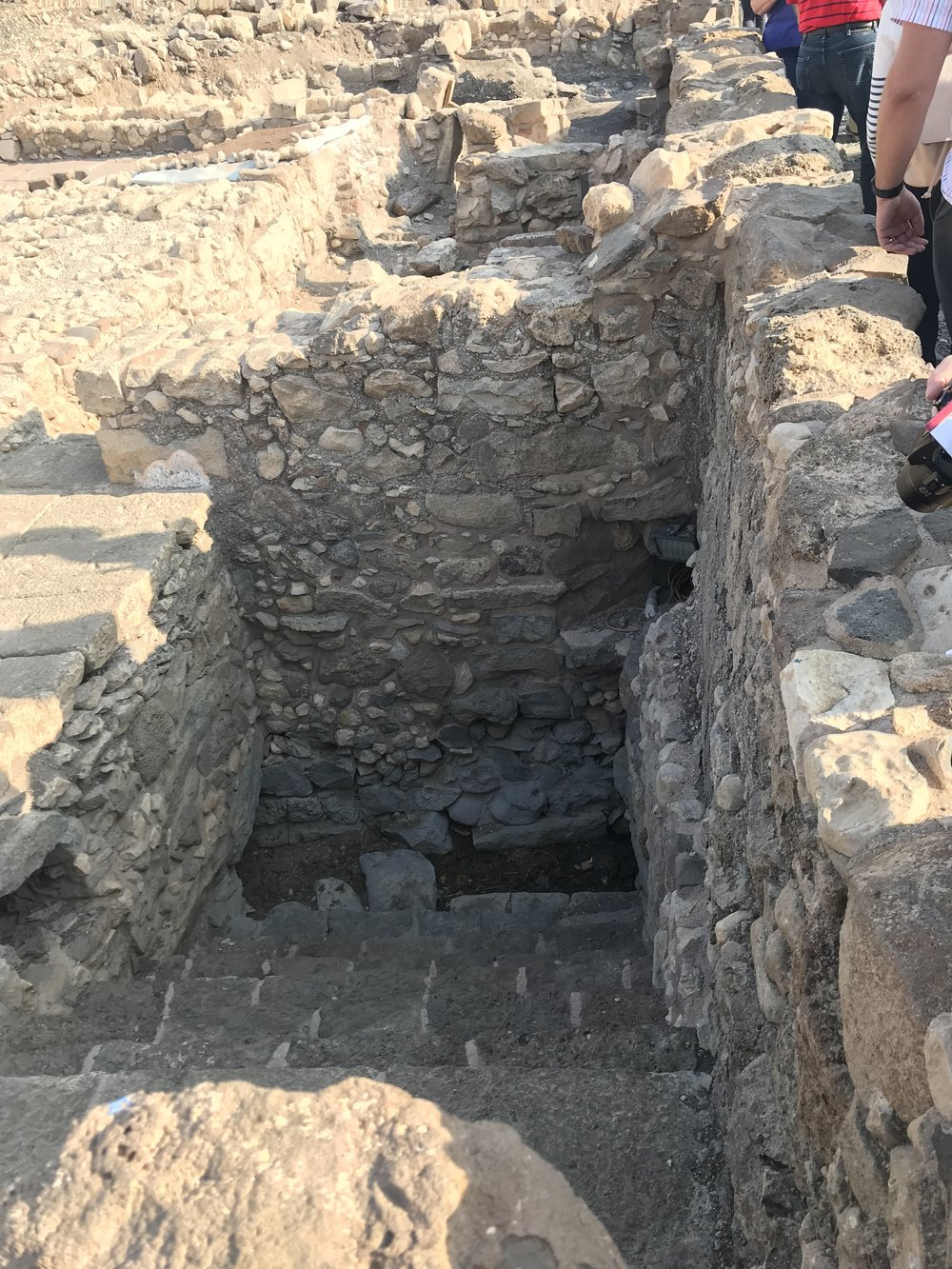 First century mikveh (ritual bath) at Magdala