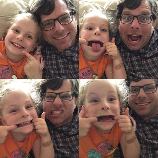 Silly time with my Mar