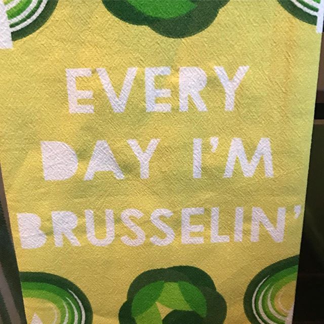 When your wife's kitchen towel game is on point. 😂