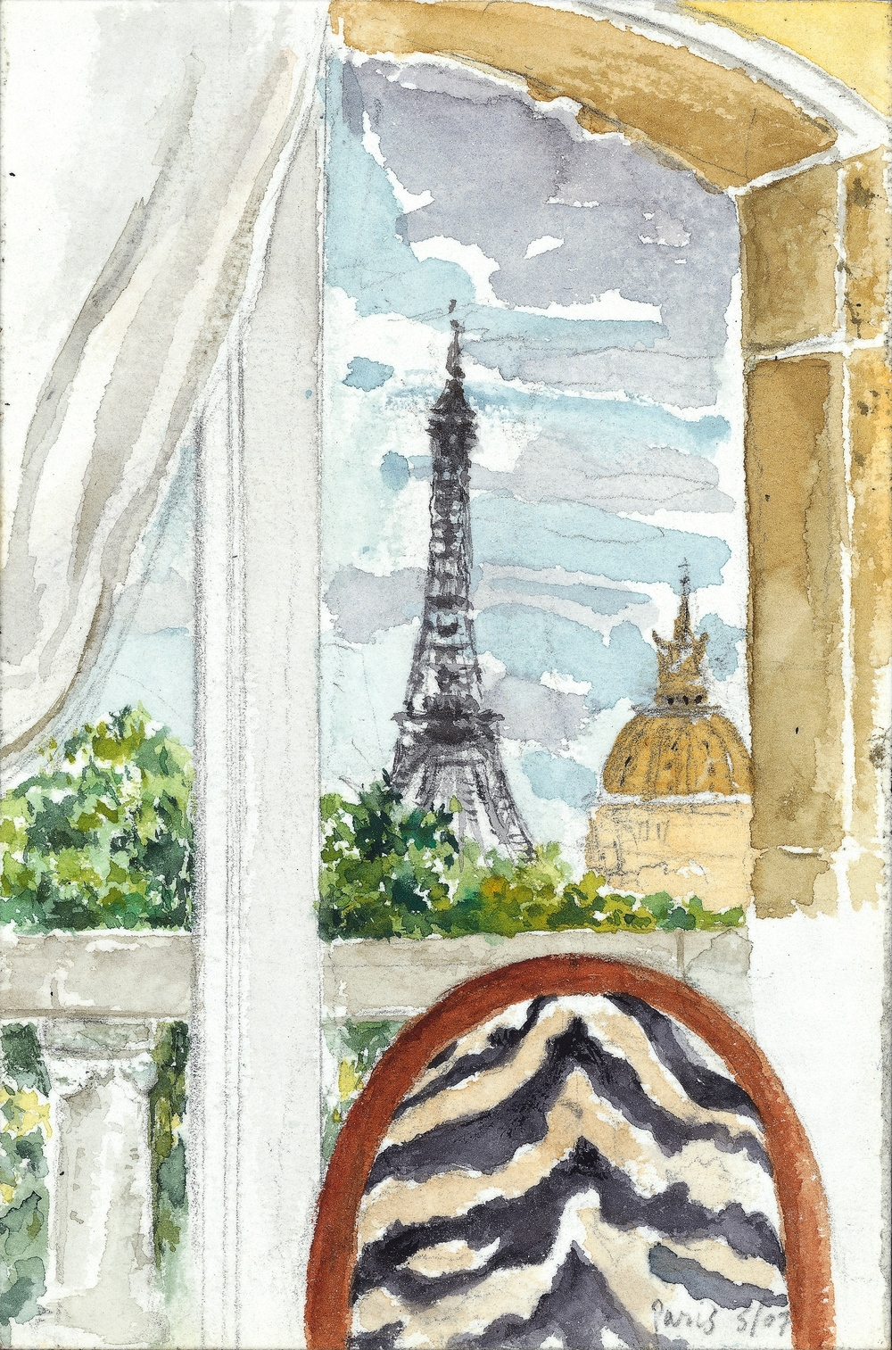 PARIS SUITE, WATERCOLOR