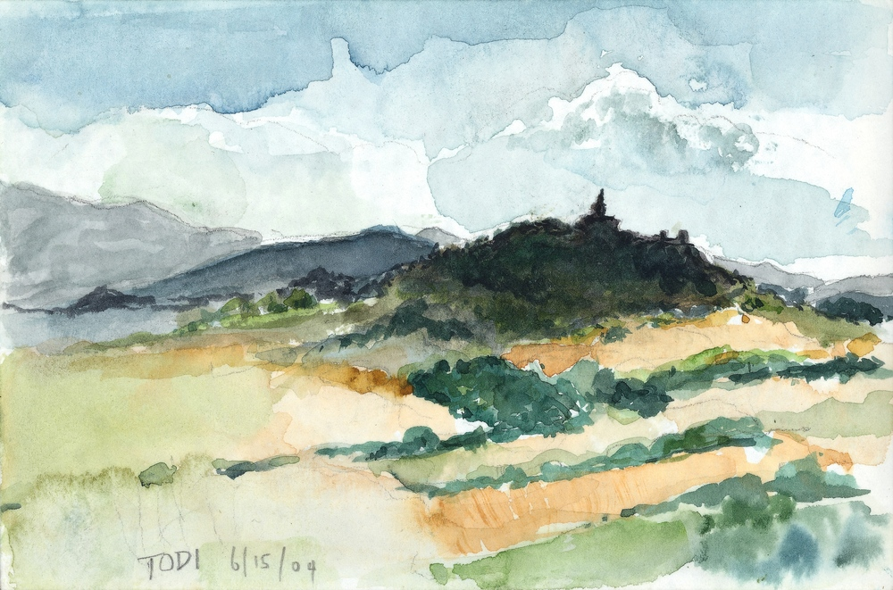 TODI, WATERCOLOR