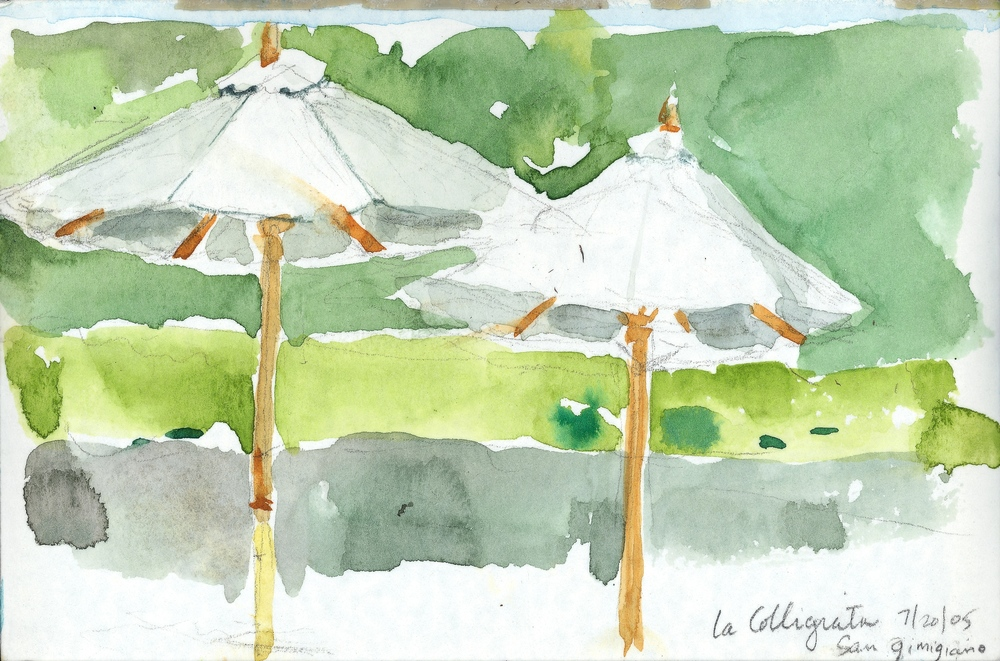 LA COLLIGIATA, WATERCOLOR