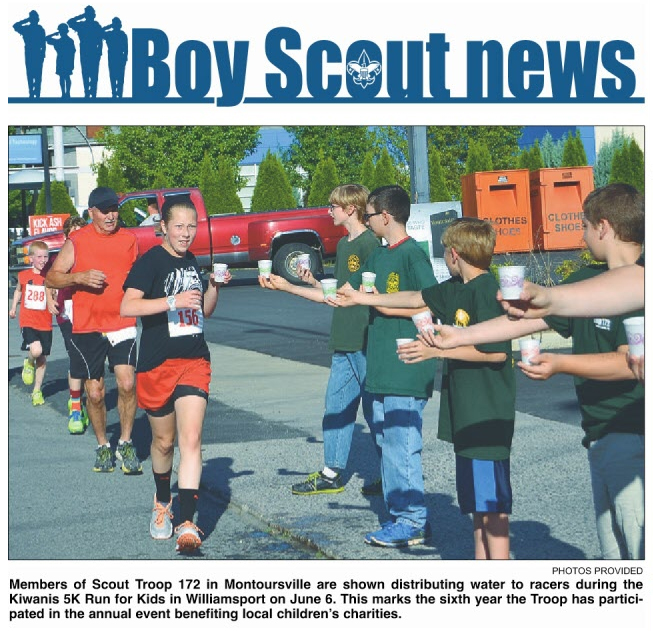 Article appeared in the Williamsport Sun Gazette on Sunday June 29, 2014